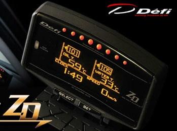 Defi ZD Club Sport Package เกจ์วัดที่ครบ จบได้ในตัวเดียว